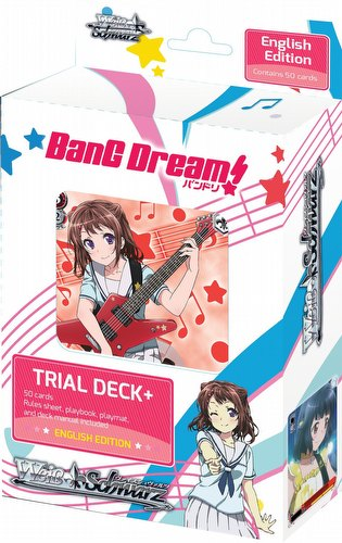Weiss Schwarz (WeiB Schwarz): BanG Dream Trial Deck [English]