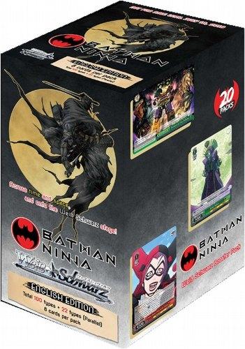 Weiss Schwarz (WeiB Schwarz): Batman Ninja Booster Box [English]