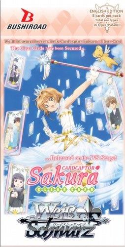 Weiss Schwarz (WeiB Schwarz): Cardcaptor Sakura: Clear Card Booster Box [English]