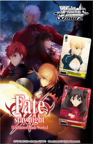 Weiss Schwarz (WeiB Schwarz): Fate/stay night Booster Case [English/16 boxes]