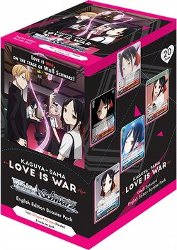 Weiss Schwarz (WeiB Schwarz): Kaguya-sama - Love is War Booster Box [English]