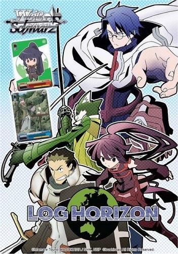 Weiss Schwarz (WeiB Schwarz): Log Horizon Extra Booster Case [English/30 boxes]