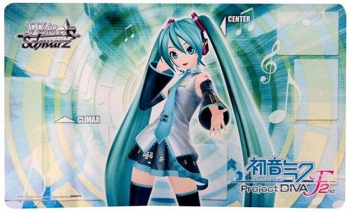 Weiss Schwarz (WeiB Schwarz): Hatsune Miku - Project DIVA-f Series 2 Play Mat