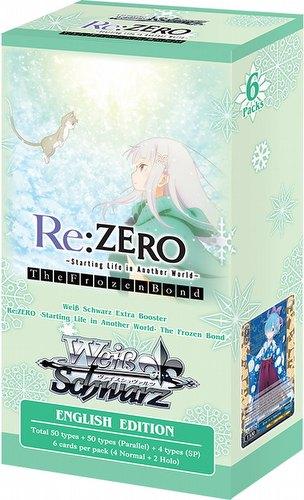 Weiss Schwarz (WeiB Schwarz): Re: Zero - Starting Life Frozen Bond Extra Booster Box [English]