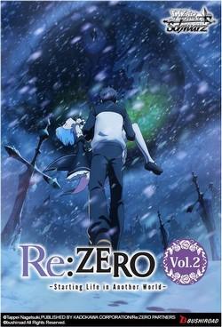 Weiss Schwarz (WeiB Schwarz): Re: Zero - Starting Life/Another World Vol. 2 Booster Case [Eng/16bx]