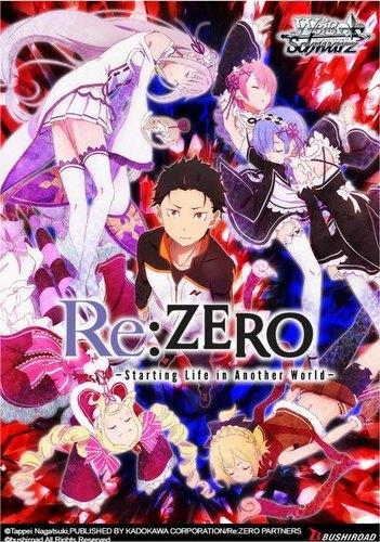 Weiss Schwarz (WeiB Schwarz): Re: Zero - Starting Life in Another World Booster Box [English]
