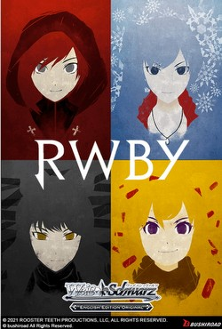 Weiss Schwarz (WeiB Schwarz): RWBY Booster Box [English]