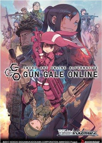 Weiss Schwarz (WeiB Schwarz): SAO Alternative - Gun Gale Online Trial Deck+ Box [English]