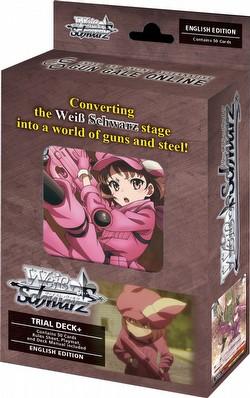 Weiss Schwarz (WeiB Schwarz): Sword Art Online Alternative - Gun Gale Online Trial Deck+ [English]