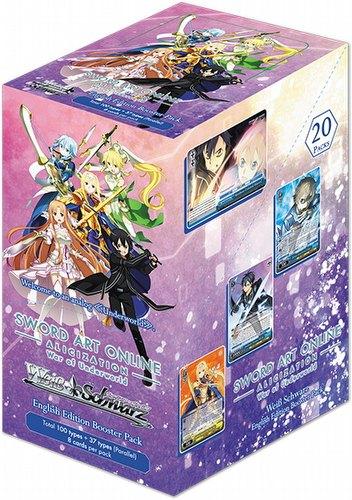 Weiss Schwarz (WeiB Schwarz): Sword Art Online Alicization Volume 2 Booster Box [English]