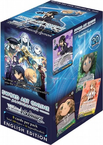 Weiss Schwarz (WeiB Schwarz): Sword Art Online Alicization Booster Box [English]
