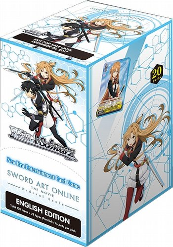 Weiss Schwarz (WeiB Schwarz): Sword Art Online The Movie - Ordinal Scale Booster Box [English]