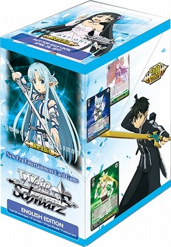 Weiss Schwarz (WeiB Schwarz): Sword Art Online Re: Edit Booster Box [English]