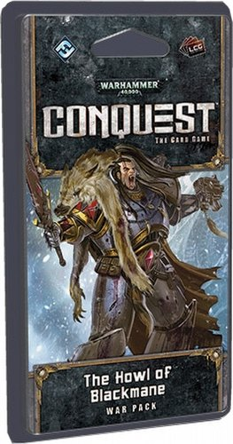 Warhammer 40K Conquest LCG: Warlord Cycle - The Howl of Blackmane War Pack Box [6 packs]
