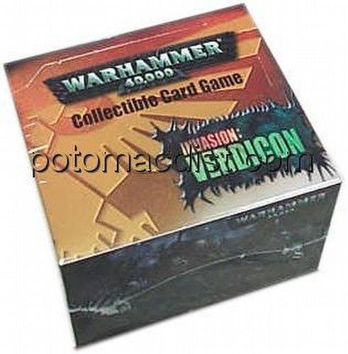 Warhammer 40K CCG: Invasion Verdicon Booster Box