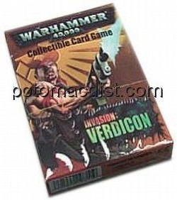 Warhammer 40K CCG: Verdicon Catachan Starter Deck