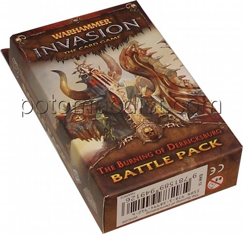 Warhammer Invasion LCG: The Enemy Cycle - The Burning of Derricksburg Battle Pack