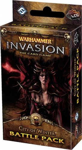 Warhammer Invasion LCG: The Capital Cycle - City of Winter Battle Pack Box [6 packs]