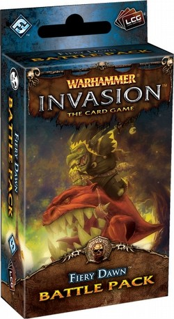 Warhammer Invasion LCG: The Morrslieb Cycle - Fiery Dawn Battle Pack Box [6 packs]