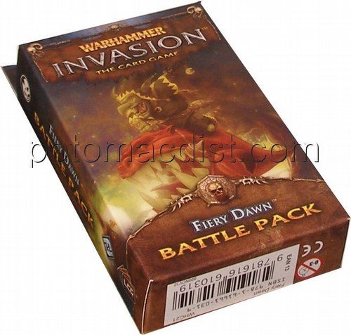 Warhammer Invasion LCG: The Morrslieb Cycle - Fiery Dawn Battle Pack