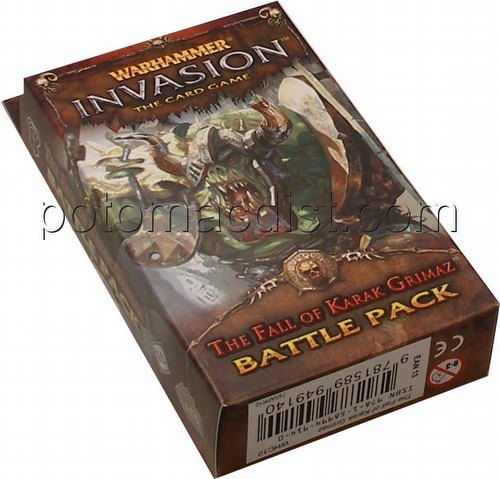 Warhammer Invasion LCG: The Enemy Cycle - Fall of Karak Grimaz Battle Pack