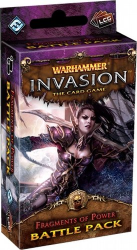 Warhammer Invasion LCG: The Bloodquest Cycle - Fragments of Power Battle Pack Box [6 Packs]