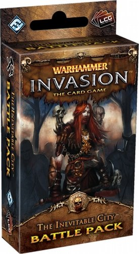 Warhammer Invasion LCG: The Capital Cycle - The Inevitable City Battle Pack Box [6 packs]