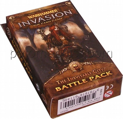 Warhammer Invasion LCG: The Capital Cycle - The Inevitable City Battle Pack