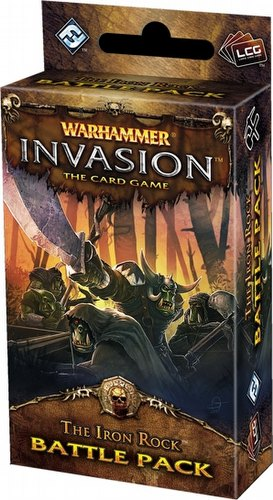 Warhammer Invasion LCG: The Capital Cycle - The Iron Rock Battle Pack Box [6 Packs]