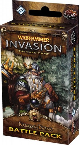 Warhammer Invasion LCG: The Capital Cycle - Karaz-A-Karak Battle Pack Box [6 Packs]