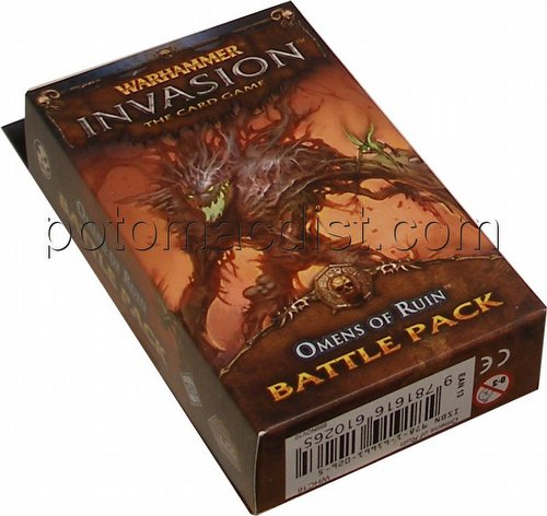 Warhammer Invasion LCG: The Morrslieb Cycle - Omens of Ruin Battle Pack