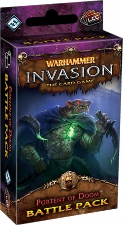 Warhammer Invasion LCG: The Bloodquest Cycle - Portent of Doom Battle Pack Box [6 packs]