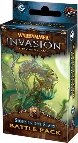 Warhammer Invasion LCG: The Morrslieb Cycle - Signs In The Stars Battle Pack Box [6 packs]
