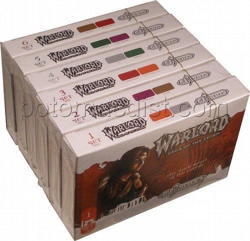 Warlord CCG: 4th Edition Complete Base Set (6 Adventure Path Sets/#1-6)