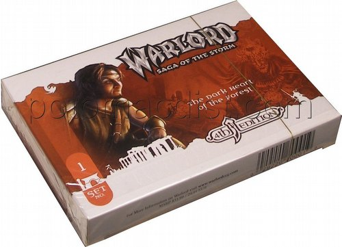 Warlord CCG: 4th Edition Base Set - The Dark Heart of the Forest Adventure Path Set (#1)
