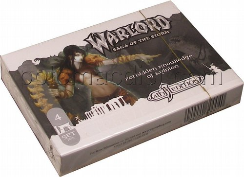 Warlord CCG: 4th Edition Base Set - Forbidden Knowledge of Kylnion Adventure Path Set (#4)