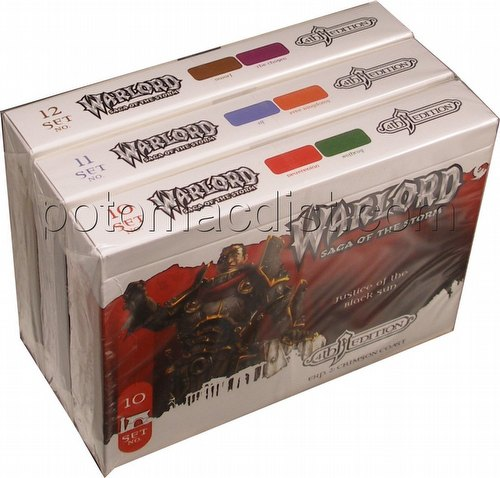 Warlord CCG: 4th Edition Complete Crimson Coast Set (3 Adventure Path Sets/#10-12)