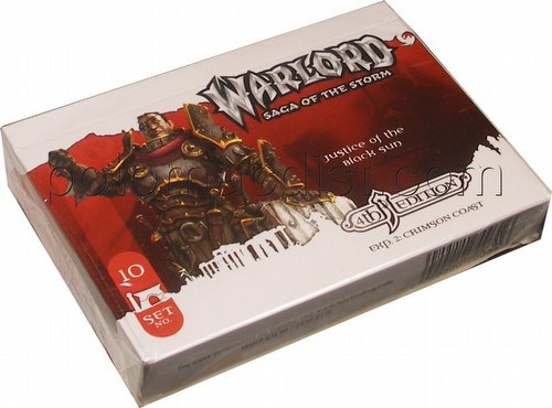 Warlord CCG: 4th Edition Exp. 2 Crimson Coast - Justice of the Black Sun Adventure Path Set (#10)
