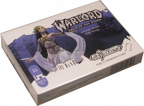 Warlord CCG: 4th Edition Exp. 2 Crimson Coast - Terror from the Deep Adventure Path Set (#11)