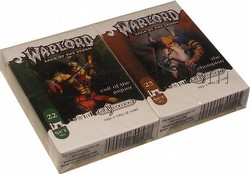 Warlord CCG: 4th Edition Exp. #4 City of Gold - Champion/Jaguar Adventure Path Sets (#22/#23)