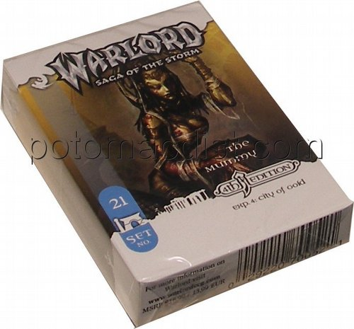 Warlord CCG: 4th Edition Exp. #4 City of Gold - The Mummy (Sleeper) Adventure Path Set (#21)