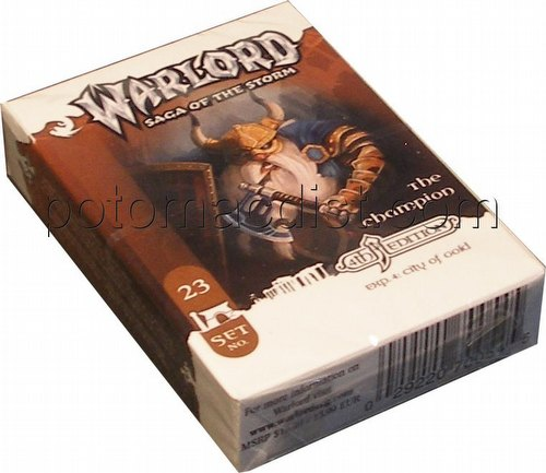 Warlord CCG: 4th Edition Exp. #4 City of Gold - The Champion Adventure Path Set (#23)