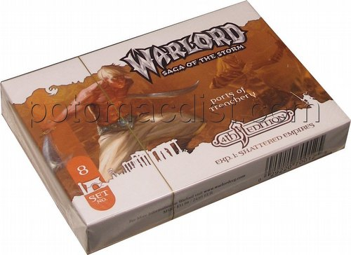 Warlord CCG: 4th Edition Exp. 1 Shattered Empires - Ports of Treachery Adventure Path Set (#8)