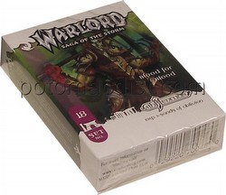 Warlord CCG: 4th Edition Exp. #3 Sands of Oblivion - Blood for Blood Adventure Path Set (#18)