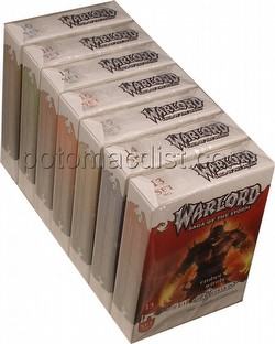 Warlord CCG: 4th Edition Sands of Oblivion Complete Set (7 Adventure Path Sets/#13-19)