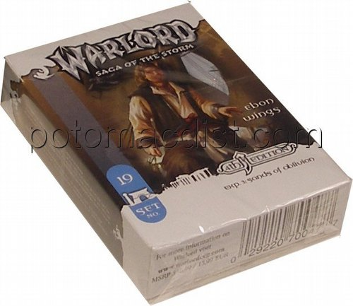 Warlord CCG: 4th Edition Exp. #3 Sands of Oblivion - Ebon Wings Adventure Path Set (#19)