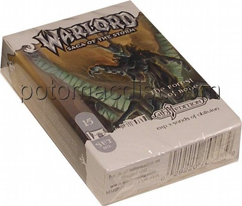 Warlord CCG: 4th Edition Exp. #3 Sands of Oblivion - The Forest of Bone Adventure Path Set (#15)
