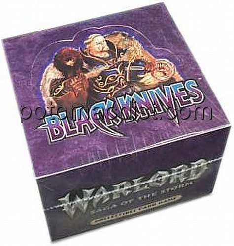 Warlord CCG: Black Knives Starter Deck Box