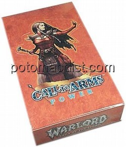 Warlord CCG: Call to Arms Power Booster Box