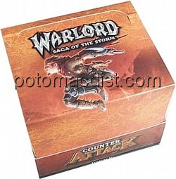 Warlord CCG: Counter Attack Starter Deck Box